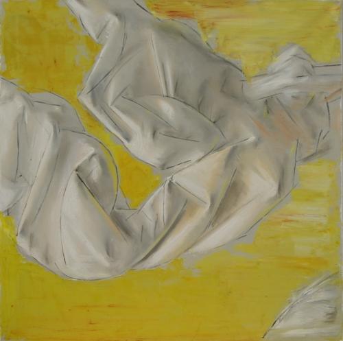 The Flight, oil on canvas, 60x60cm, 2012