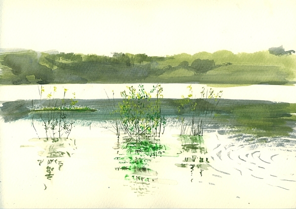 In Summer, 29x21cm, watercolor on paper, 2011