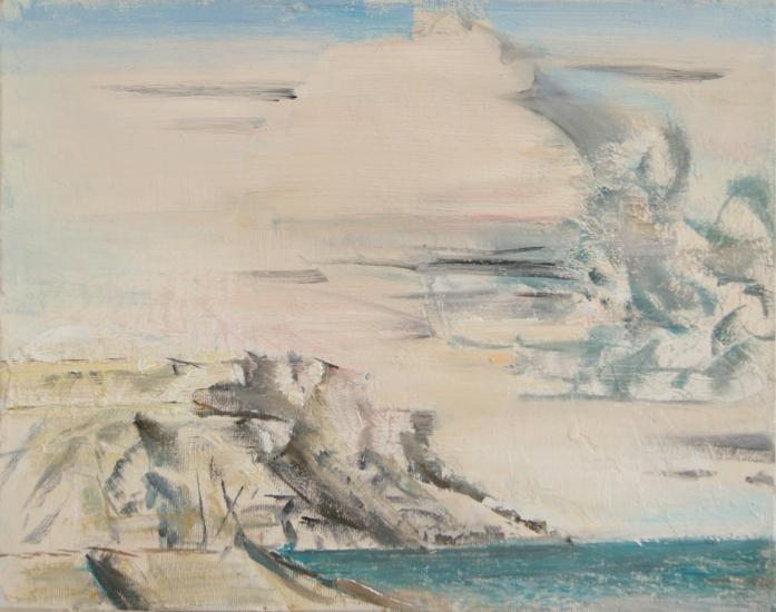 Sea, oil on canvas, 30x20cm, 2016