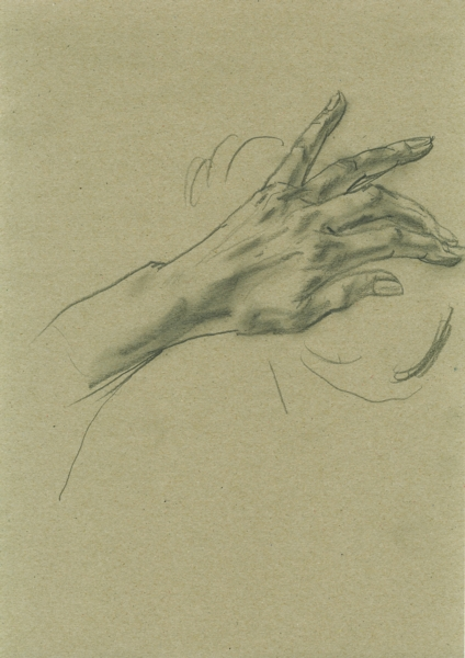 Sketch, pencil on paper, 21x29cm, 2010