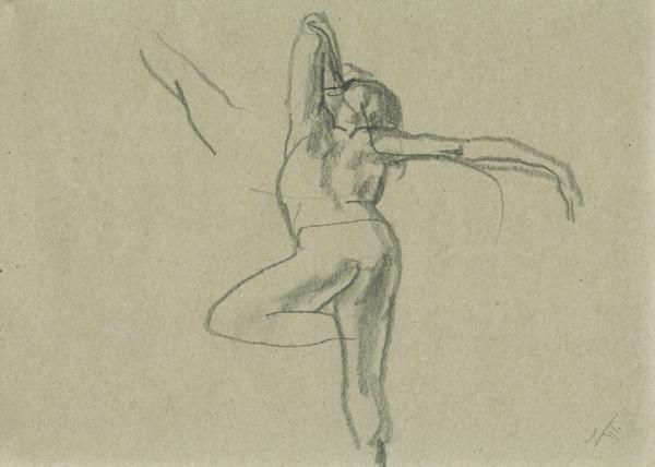 Sketch, pencil on paper, 21x29cm, 2007