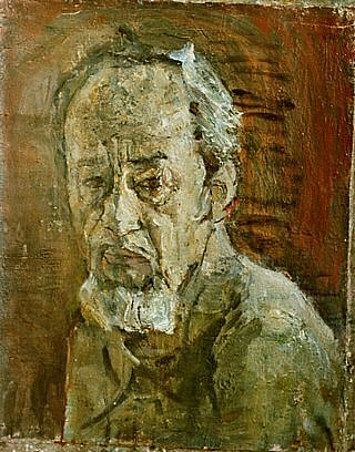 Father, 40x50cm, oil on canvas, 1998