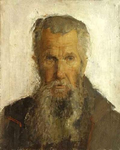 Old Men, oil on canvas, 50x40cm, 1994