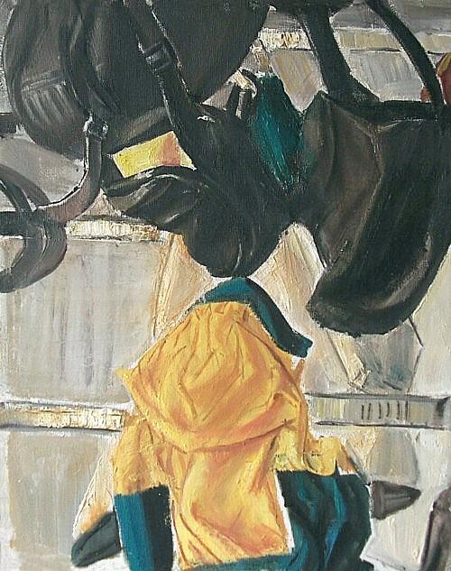 Still life, 25x30cm, oil on canvas, 2008