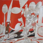Still Life , oil on canvas, 50x50cm, 2014