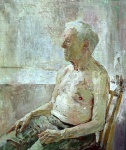 Grandfather, 50x60cm, oil on canvas, 1992