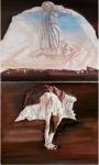 Pain, Diptych, oil on canvas, je 100x120cm, 2014