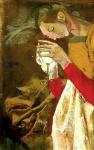 Angel Gabriel (section), oil on canvas, 110x80cm, 1998