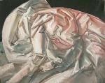 Folds, 30x25cm, oil on canvas, 2007