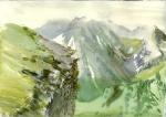 Georgia, watercolor on paper, 21x29cm, 2011